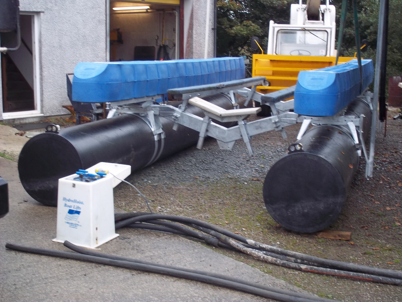 Spares and repairs for Hydro Hoist Boat Lifts